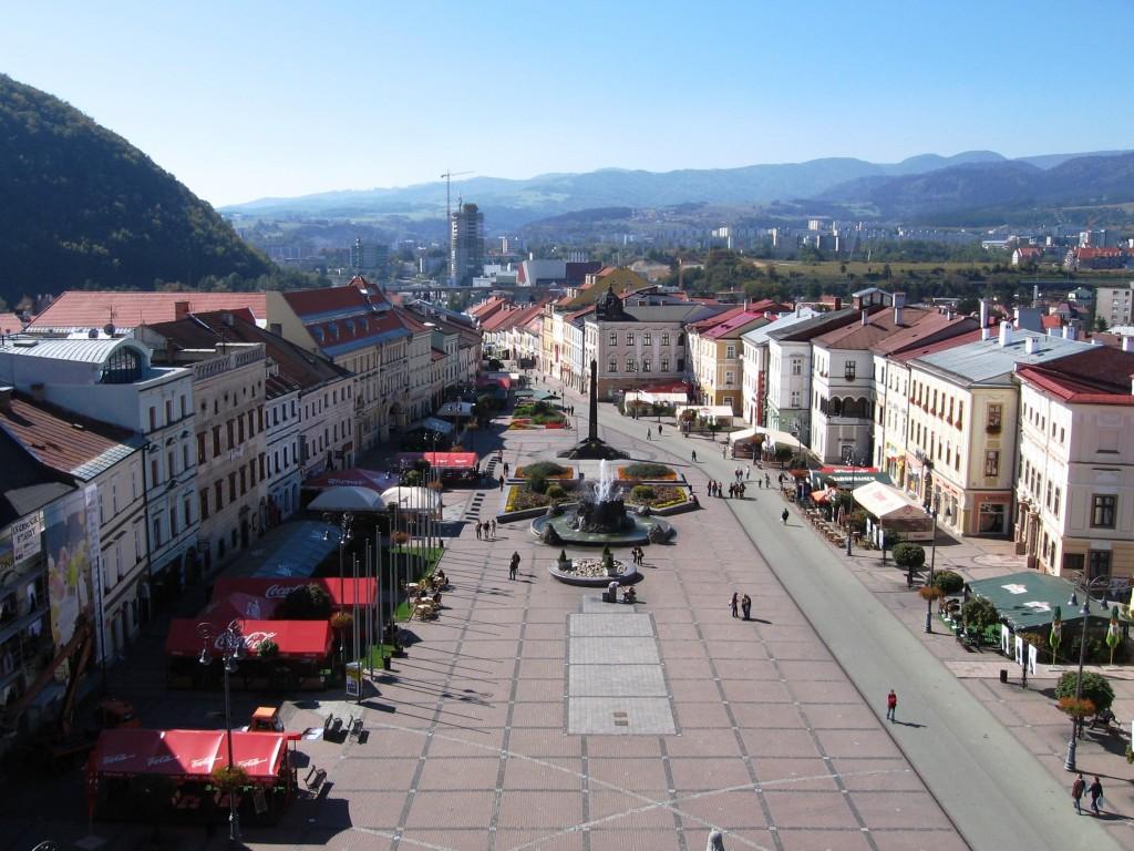 Banská Bystrica - Marktplatz (Platz des Slowakischen Nationalaufstandes)