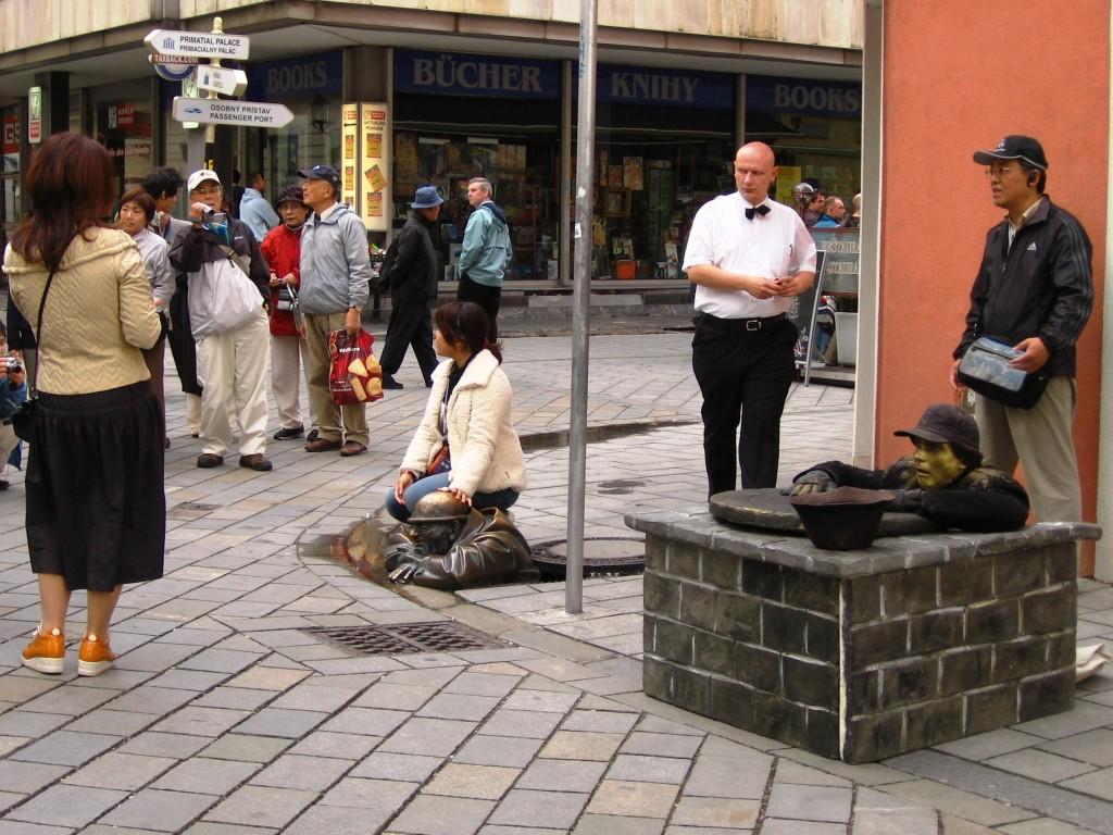 Bratislava - Man at work