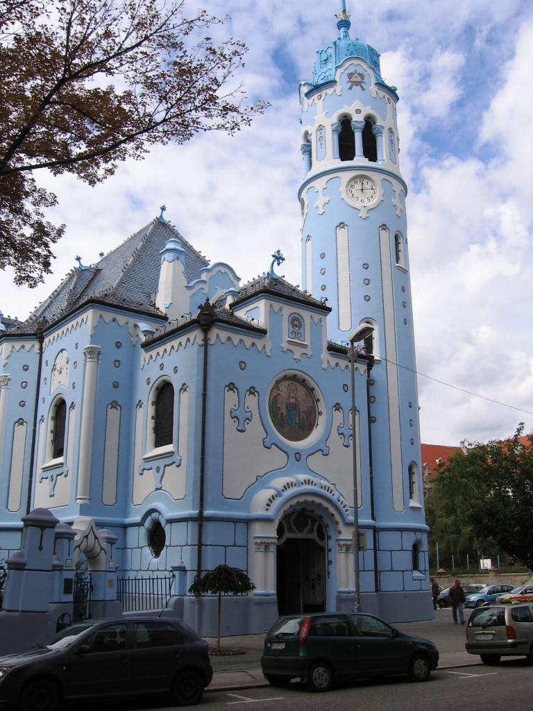 Bratislava - Blaue Kirche (röm.-kath. Sankt-Elisabeth-Kirche)